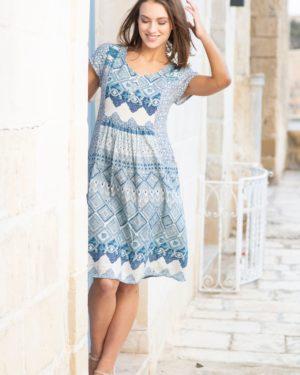 Orientiquen kesäinen mekko Leon