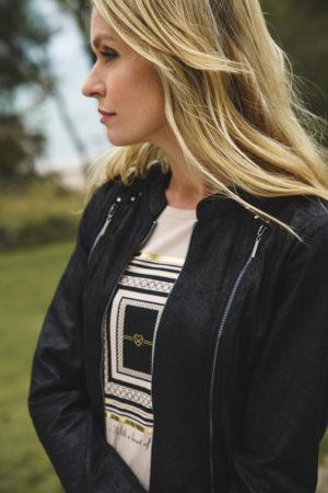 mapel jakku musta infront