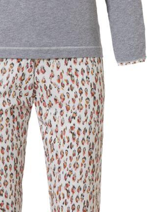 Pastunette sydän aplikaatio naisten pyjama